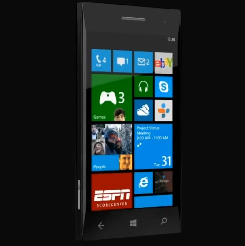 Windows Phone 8 Startscreen