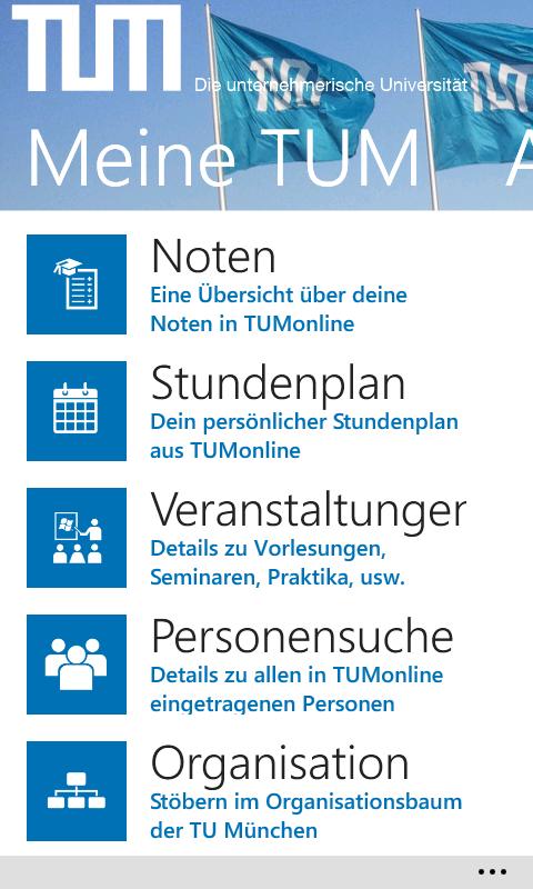 Tum Campus App Leitning De