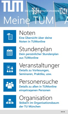 TUM Campus App